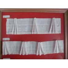 Bande de rideau, bande de rideau de poche, bande de rideau blanc