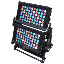 Rgbaw ao ar livre 5 em 1 luz LED City Light Color / LED luzes de lavagem