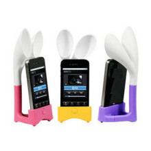 Silicone Horn Stand for iPhone