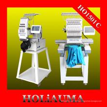 Holiauma nuevos precios de máquina de cabezal simple bordado con 15 colores