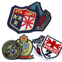 Wholesale Custom Logo Embroidered Badge Embroidery Patches for Clothing