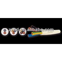 Condutor de cobre do núcleo do cabo 2/3/4 de H03VV-F TTR com isolação e bainha do PVC