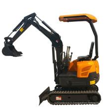 Mini excavatrice de mini excavatrice de 1.6ton mini
