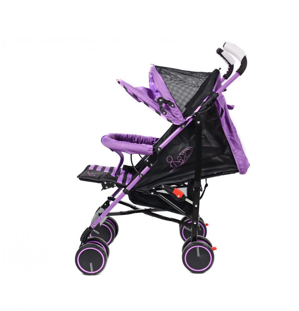 Luxury Zigzag Style Lightweight Baby Stroller for Travel