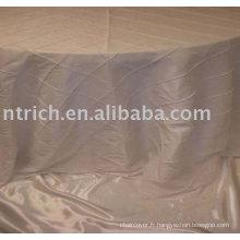 100 % polyester tissu linge de table, nappe de l'hôtel