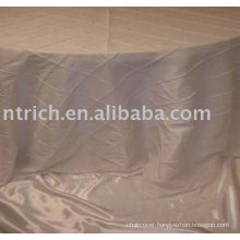 100% Polyester fabric table linen, hotel tablecloth