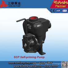 Pompe auto-amorçante horizontale d'irrigation de type SCP