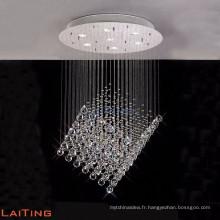 Panneau solaire chromé moderne suspendu lustre pendentif éclairage 92026