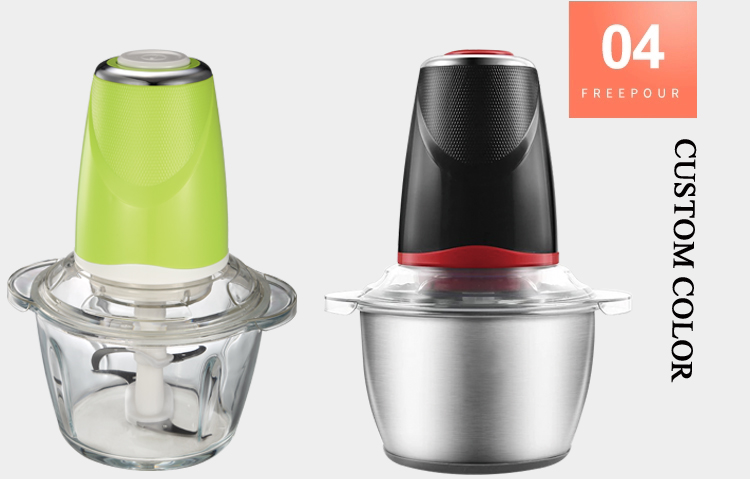 Easy To Clean Quiet Food Mincer Mixer Chopper