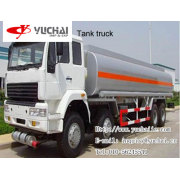 8x4 Fuel tank truck.