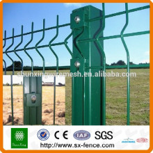 Metal Welding Curved Fence