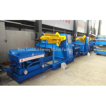 Hydraulic 10T Color Steel Sheet Coils Auto Uncoiler