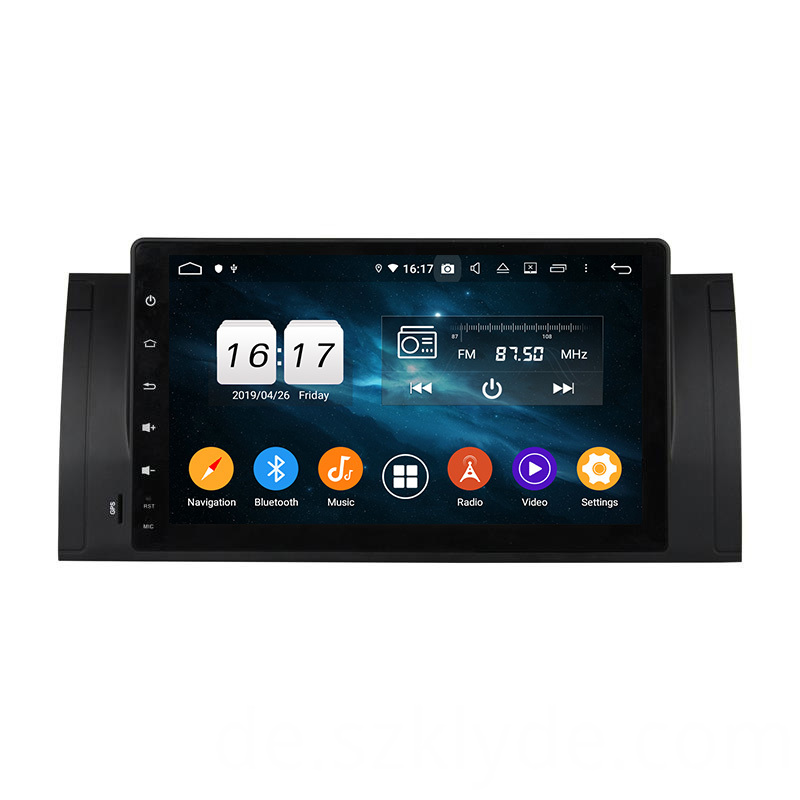 E39 car stereo dvd player