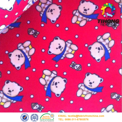 Baby Print Flanellstoff