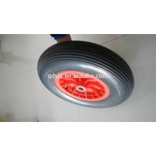 ruedas de goma espuma pu para carretilla 4.80 / 4.00-8