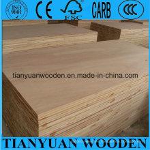 Barato de 18mm de madera Poplar / Pine / Paulownia / Falcata Core