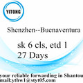 Shenzhen International Sea Vrachtverzending naar Buenaventura