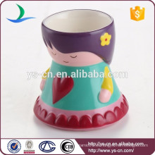 Lindo cerámica desayuno comedor novedad copas de huevo al por mayor