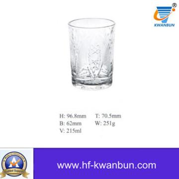 Glass Cup Verrerie Moule Verre Cup Tea Cup Bon prix Kb-Hn0815