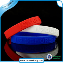 High Quality Custom Eco-Friendly Bracelet Silicone