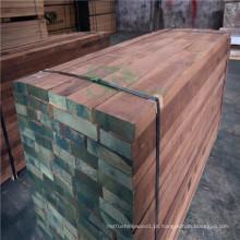 Popular de noz preta madeira serrada para móveis