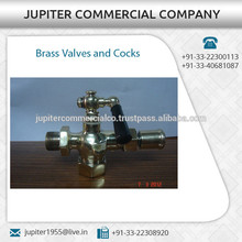 Widely Used Assured Quality Brass Valves and Cocks by Trusted Dealer