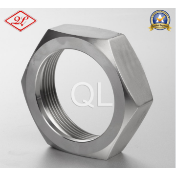 Sanitary Bevel Seat Fitting Hex Union Nut
