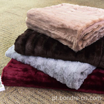 PV Plush Fleece Double Layers Blanket