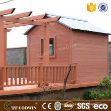 Prefab casas exterior wpc panel de pared