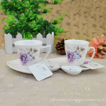 2016 Different Shape Available Pottery Wholesale Champagne Saucers