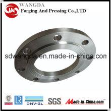 Brida de acero ANSI clase estándar ASTM A105 resbalón sobre el carbono