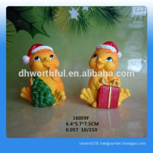 Factory directly Christmas gift painted resin figurines
