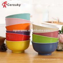 Custom all kinds stoneware salad bowl,wholesale ceramic salad bowl