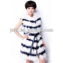 2013 noble hotsale in EU real raccoon fur vest