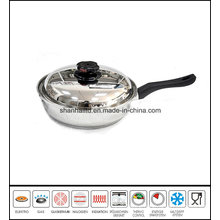 Frypan Skew Body Gourmet Skillet Cookware