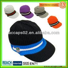 Sombrero de punto de pico con sombrero de invierno con borde BN-2653