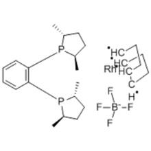 (-)-1,2-Bis[(2R,5R)-dimethylphospholano]benzene(cyclooctadiene)rhodium(I)  CAS 210057-23-1