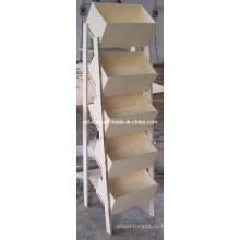 Подгонянный MDF этаж листовки литературы для одежды