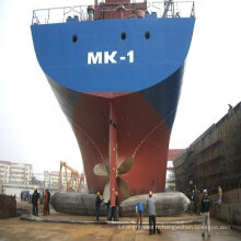 Utilisé pour le salut de bateau d'épave, les airbags en caoutchouc de récupération de bateau