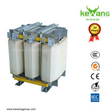 K20 modificado para requisitos particulares produjo el transformador de voltaje bajo de 100kVA para la máquina del CNC