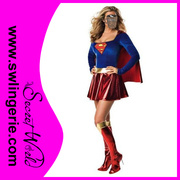 Super Woman Halloween Adult Theatrical Costume