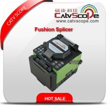Alta calidad Csp-380 fibra óptica Fusion empalmadora / empalmadora