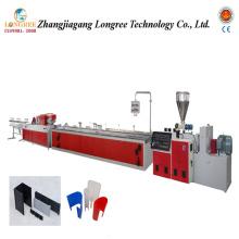 Linha de produção de extrusão de perfil de PVC Linha de produção de PVC