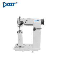 DT 82440-2H Máquina de costura com pesponto duplo pós-leito composto com série de rolos