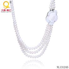 2014 joyería de perlas joyas tradicionales de fantasía