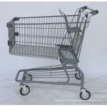 Carrinho de compras de supermercado de estilo japonês