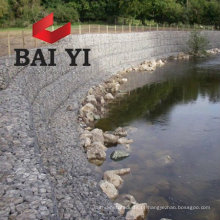 Stone Cage Gabion Fence para Bank of River