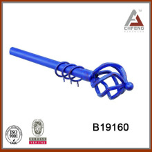 B19160 iron rod finial