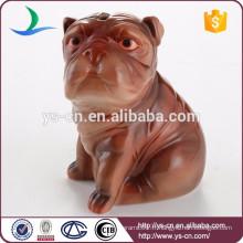 Boîte de rangement en céramique haute qualité Shar Pei Dog