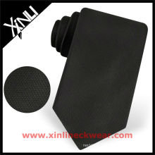 Solid Total Black Necktie